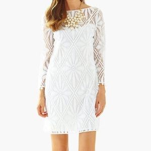 NWT Lilly Pulitzer white lace dress